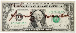 Signed $1 Bill