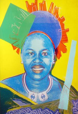 Queen Ntombi Twala Of Swaziland