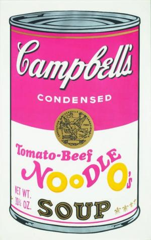 Campbell's Soup II: Tomato-Beef Noodl