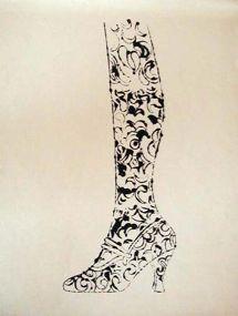 Shoe and Leg