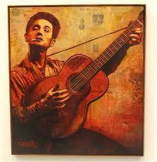 Woody Guthrie 10 Fairey