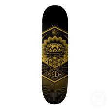 Peace Lotus Skate Deck