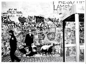 The Man Who Goes Through Walls 08 Blek Le Rat / Fairey