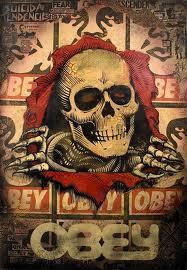 The Ripper 08 Fairey - Stencil Collage - Canvas
