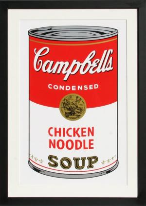 Campbell's Chicken Noodle, Serigraph