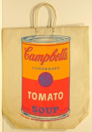 Campbell's Soup Can Tomato Paper