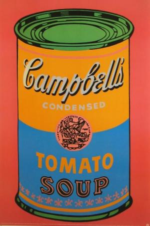 Campbell's Soup Can Lithograph Poster