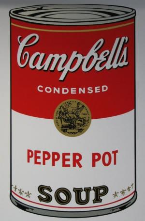Campbell's Soup Screenprint Sundy B M