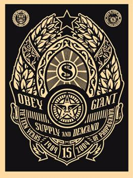 Shepard Fairey, Supply and Demand Black