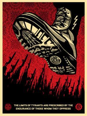 Shepard Fairey, Tyrant Boot