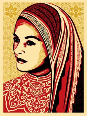 Shepard Fairey, Peace Woman