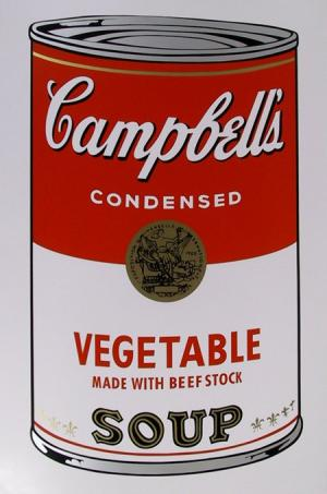 Campbell Soup Can: Vegetable