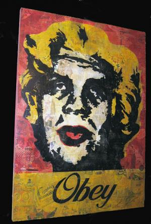 Shepard Fairey, Marilyn Warhol Canvas