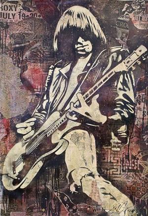 Shepard Fairey, Johnny Ramone Canvas
