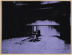 """Andy Warhol """"Electric Chair"""", 1963"""