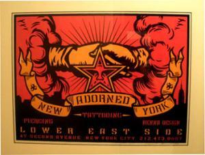 Shepard Fairey, Adorned