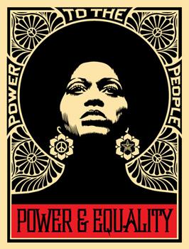 Shepard Fairey, Afrocentric Black