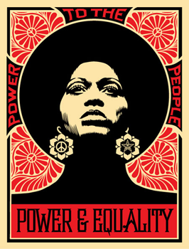 Shepard Fairey, Afrocentric red