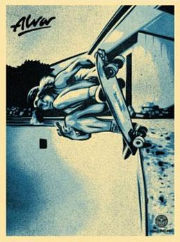 Shepard Fairey, Tony Alva Blue