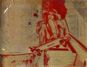 Shepard Fairey, Tony Alva Rubylith