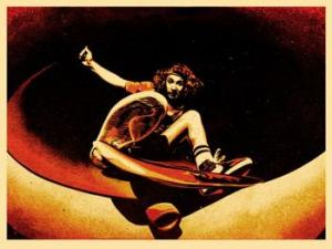 Shepard Fairey, Alva Frontside Red and Black