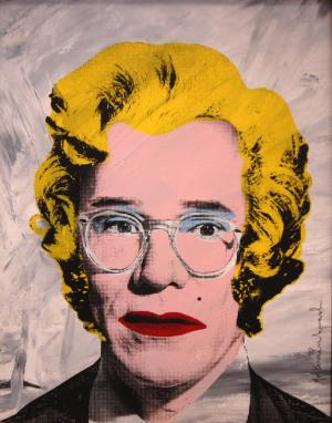 Mr. Brainwash, Andy Warhol