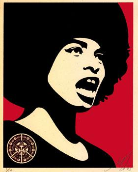 Shepard Fairey, Angela Davis Small