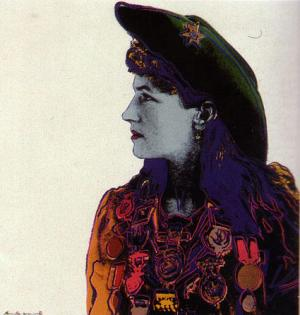 Andy Warhol, Annie Oakley - Cowboys and Indians suite of 10