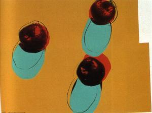 Andy Warhol, Apples - Space Fruit suite of 6