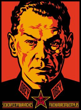 Shepard Fairey, Authoritarian