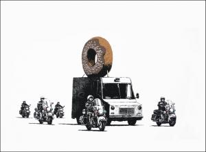 Banksy, Donuts Chocolate