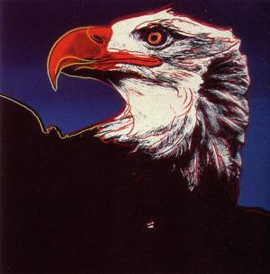 Andy Warhol, Bald Eagle - Endangered Species Suite of 10