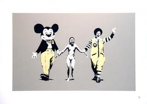 Banksy, Napalm Unsigned