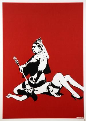 Banksy, Queen Victoria Unsigned