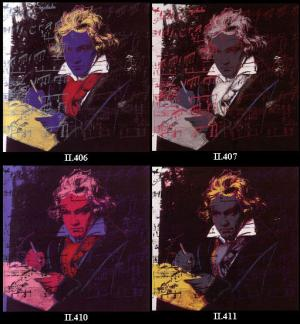 Andy Warhol, Beethoven Suite of 4