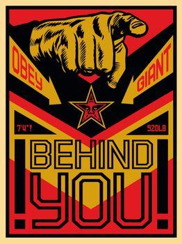 Shepard Fairey, Behind You (20th Anniversary Edition)