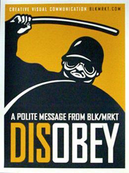 BLK/MRKT Disobey