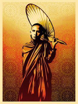Shepard Fairey, Burmese Monk