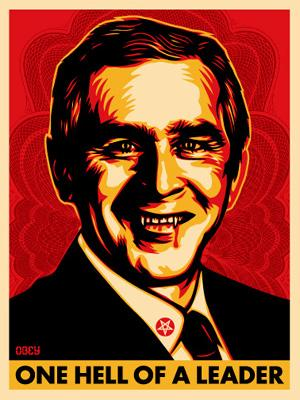 Shepard Fairey, Bush Hell