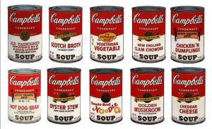 Andy Warhol, Campbell's Soup II suite of 10
