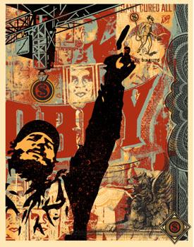 Shepard Fairey, Castro Collage