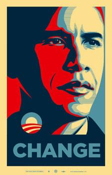 Shepard Fairey, Obama Change