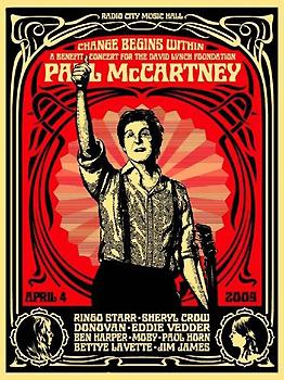 Shepard Fairey, Change Begins Within Red