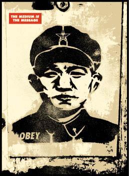 Shepard Fairey, Chinese Stencil