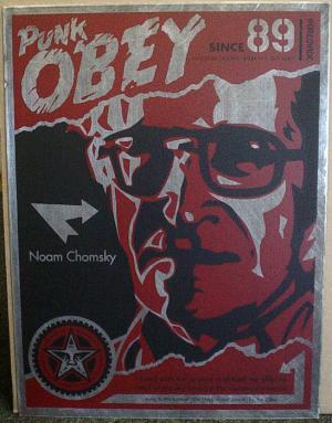 Shepard Fairey, Noam Chomsky on Metal