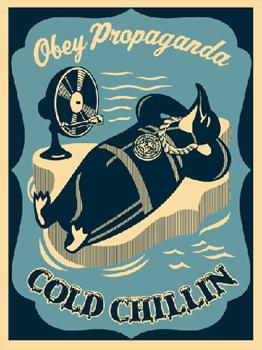 Shepard Fairey, Cold Chillin Blue