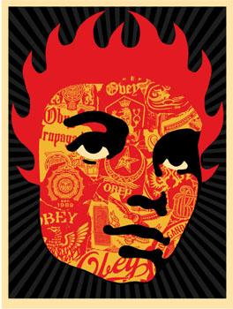 Shepard Fairey, Obey Collage Girl
