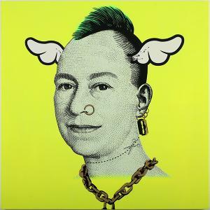 D*Face, More Punk Than You Punk Yellow