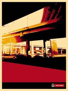 Shepard Fairey, Dallas Highway Poster