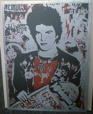 Shepard Fairey, Darby on Metal
